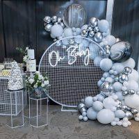 weballoonz balloon decor toronto circle hoop - gta -8